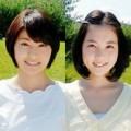 川添佳穂アナとヒロド歩美アナの画像