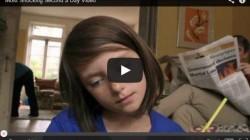【動画】「見たら絶対忘れられない90秒のビデオ」 内戦が変えた、少女の人生。
